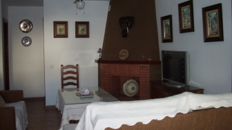 salon- chimenea